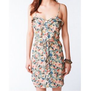 Urban Outfitter Kimchi Blue floral dress w/pockets